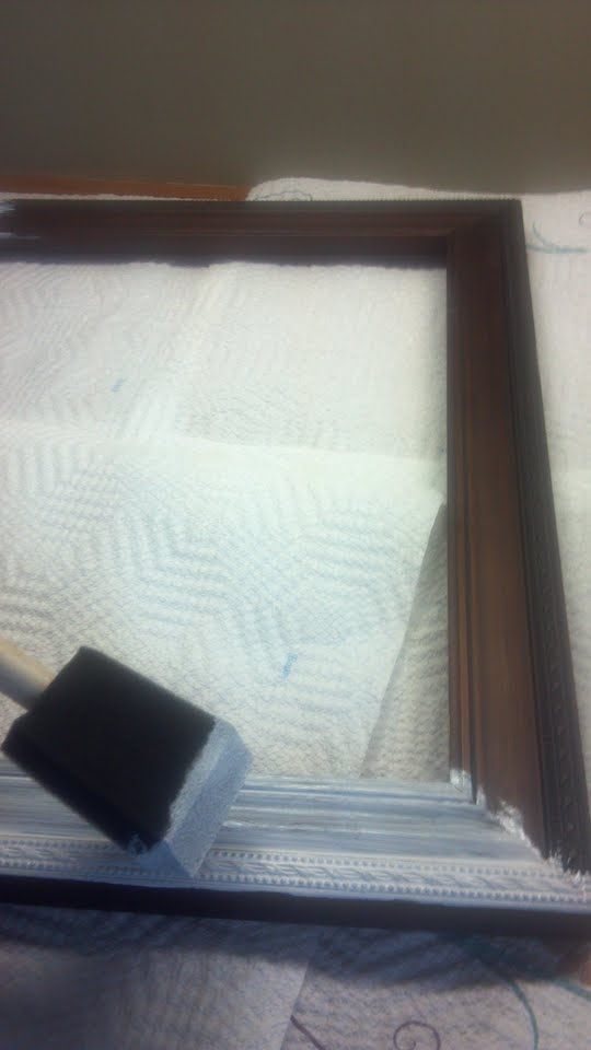 painted picture frame do it yourself