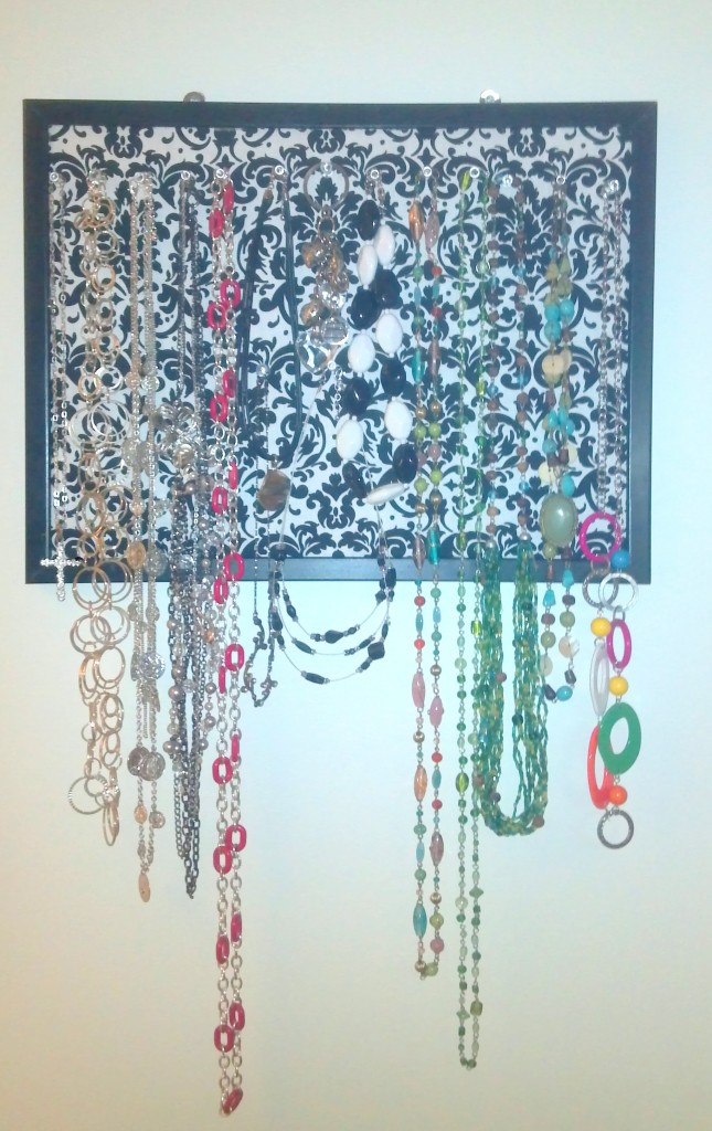 Jewelry do it yourself cork board craft