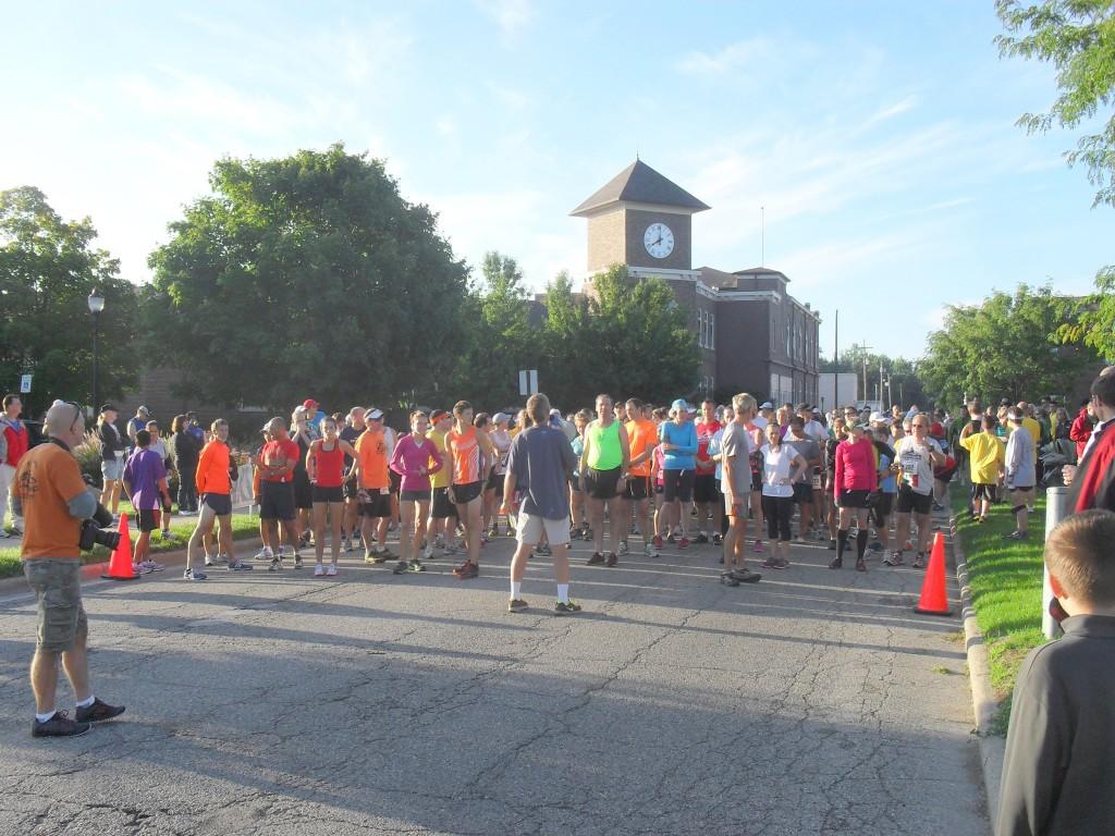 start line 5k race