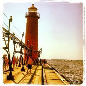 Grand Haven Pier Michigan