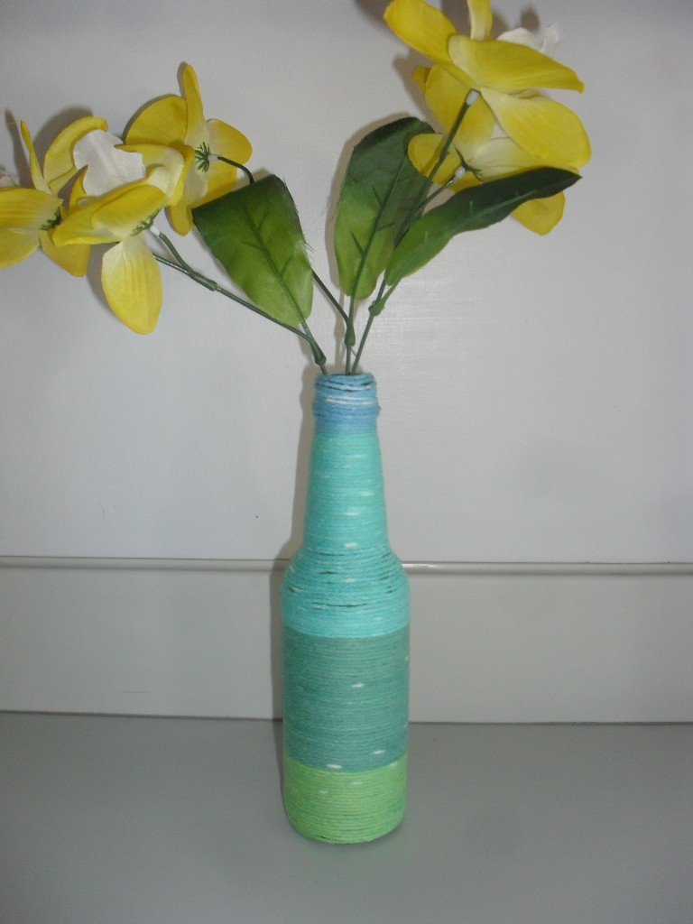 yarn bottle craft