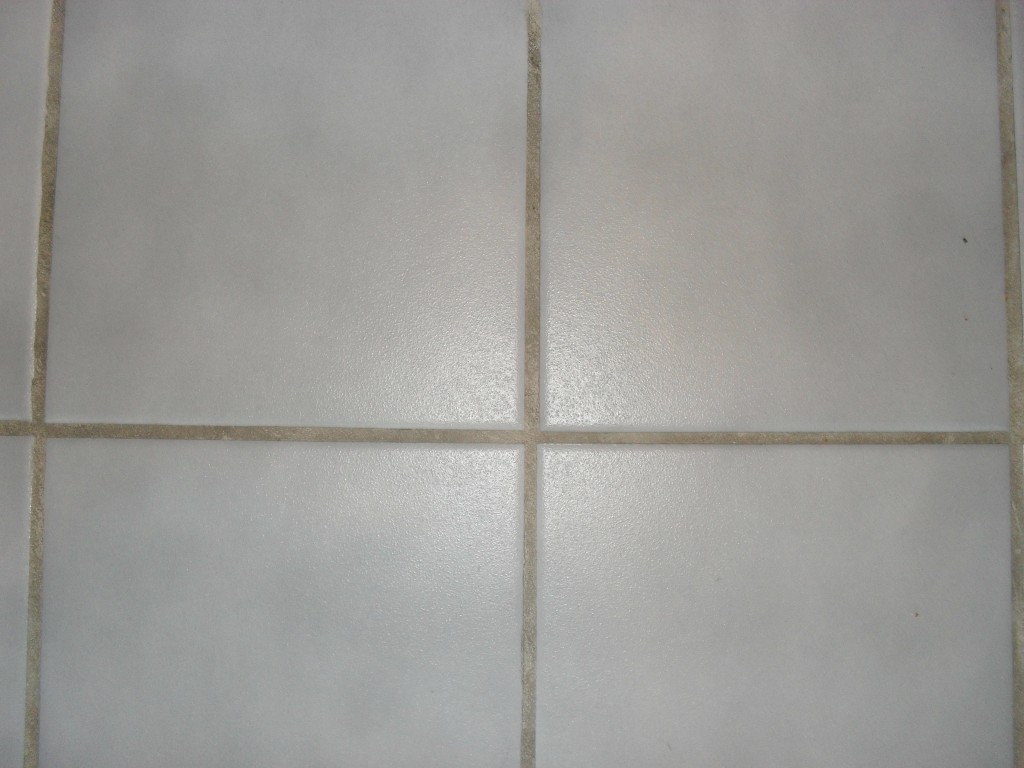 How to get grout out of tile