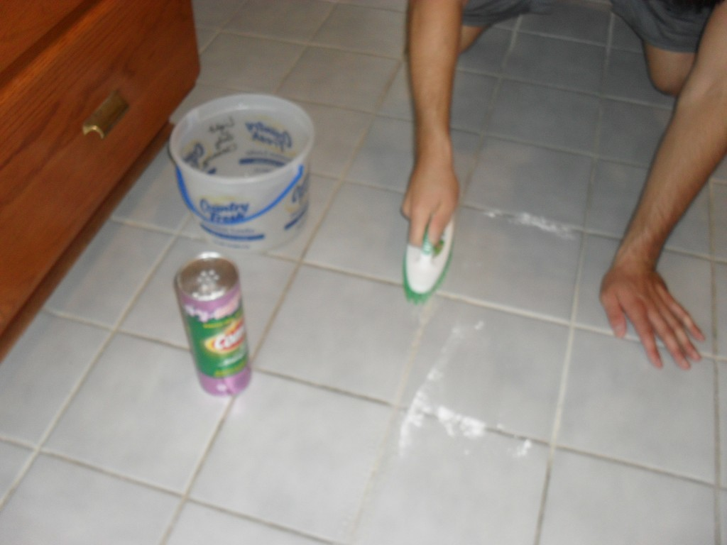 How to get rid of grout in your tiles