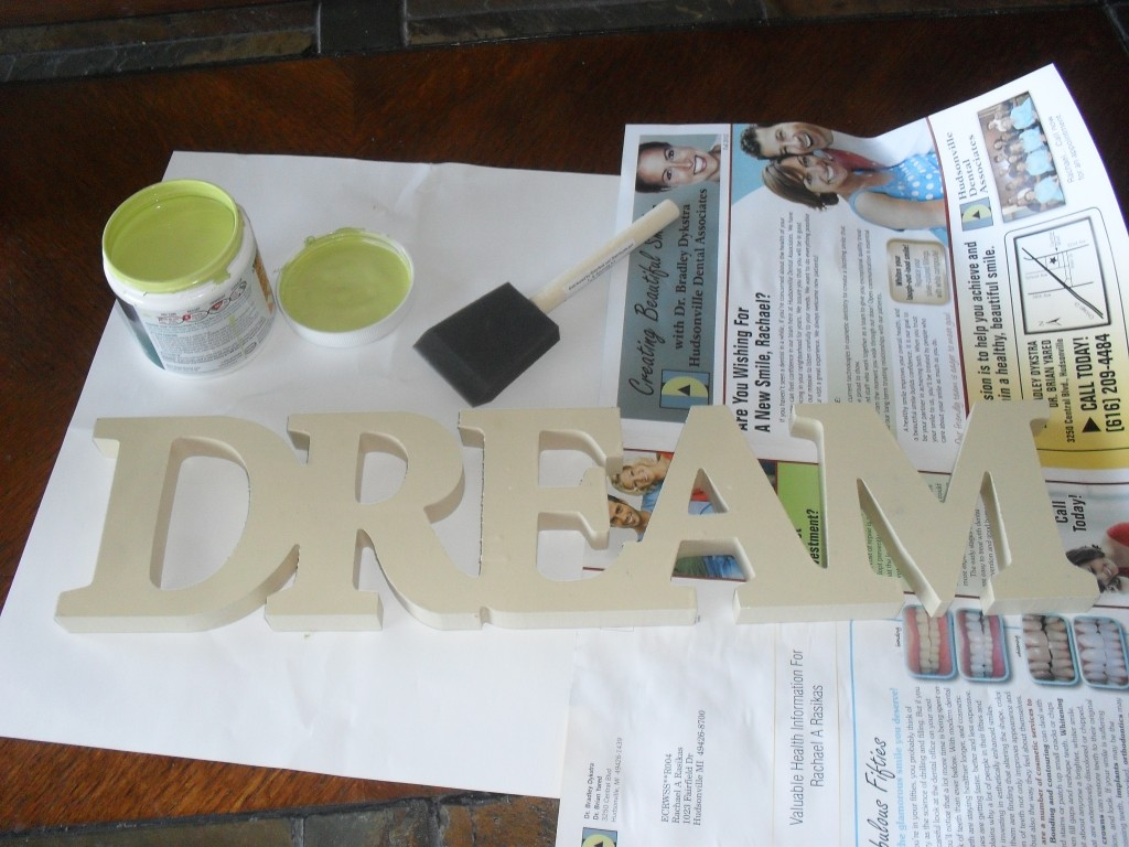 do it yourself glitter wooden sign