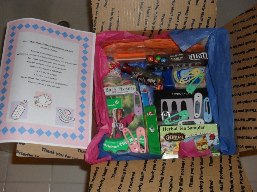 pregnancy care package kit