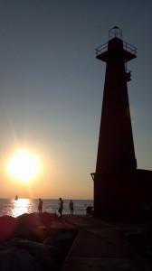 Muskegon Pier Michigan