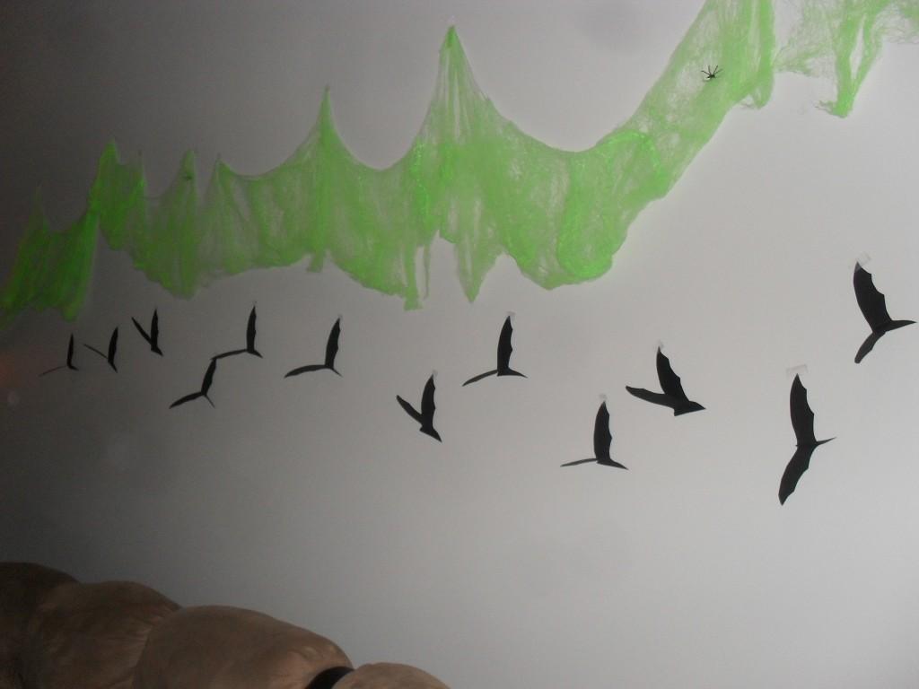halloween bat wing craft