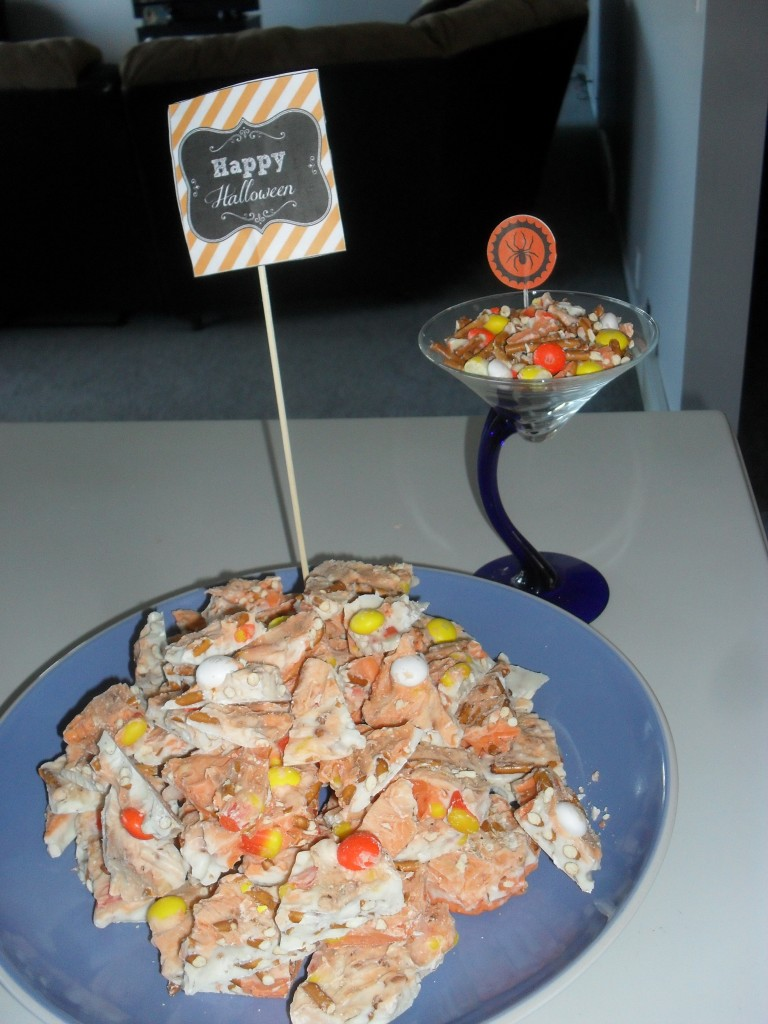 candy corn bark easy recipe
