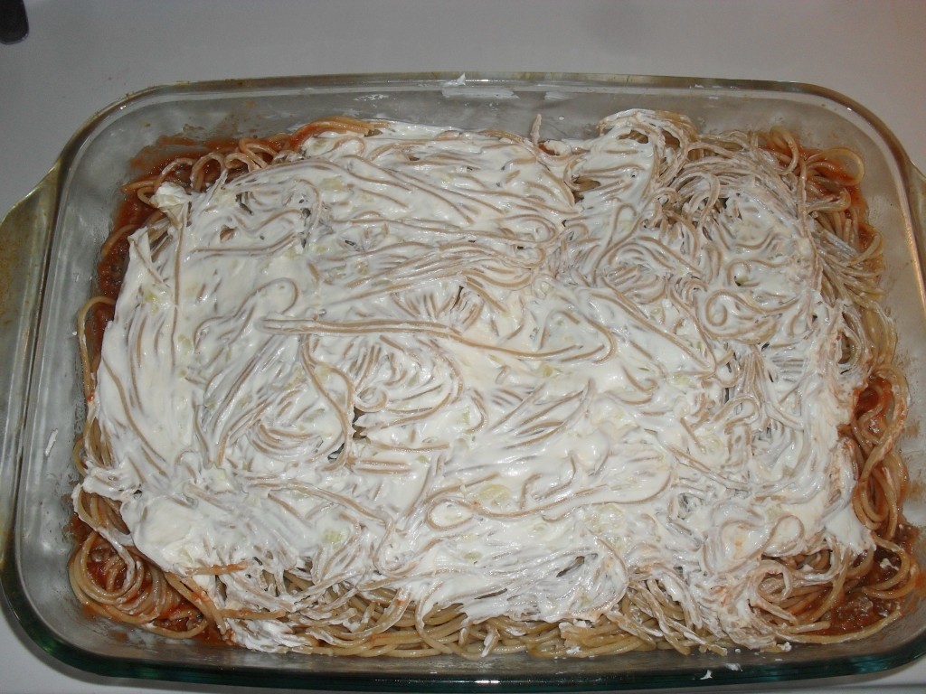 cheap baked spaghetti recipe