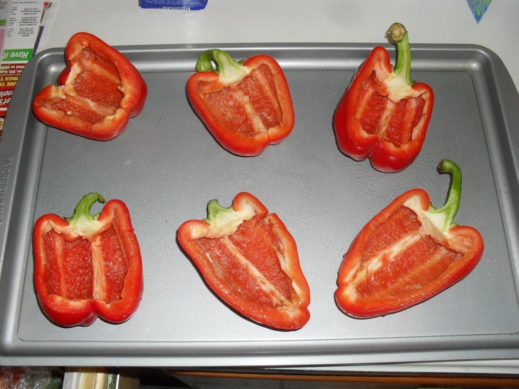 cheap stuffed red pepper recipe