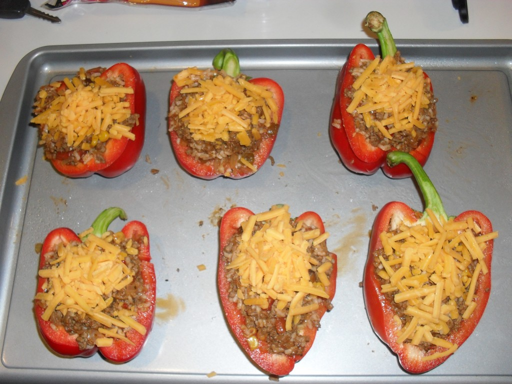 cheap stuffed bell pepper recipe