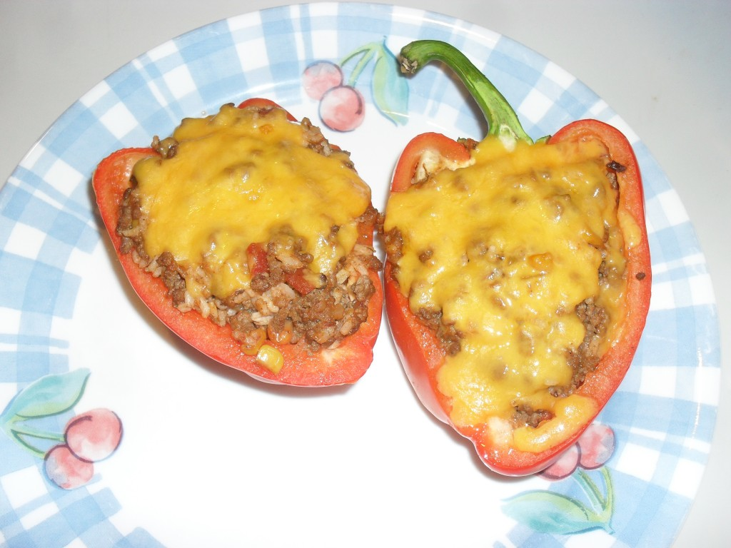 ground beef bell pepper recipe