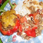 *Stuffed Red Bell Peppers*