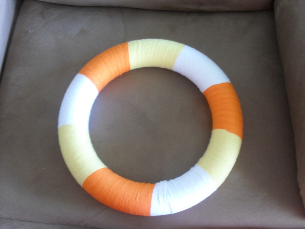candy corn do it yourself wreath