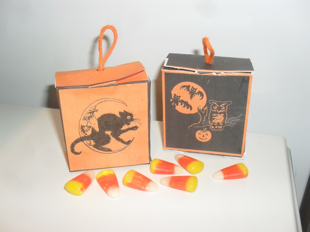 *Halloween Party Favor Boxes*