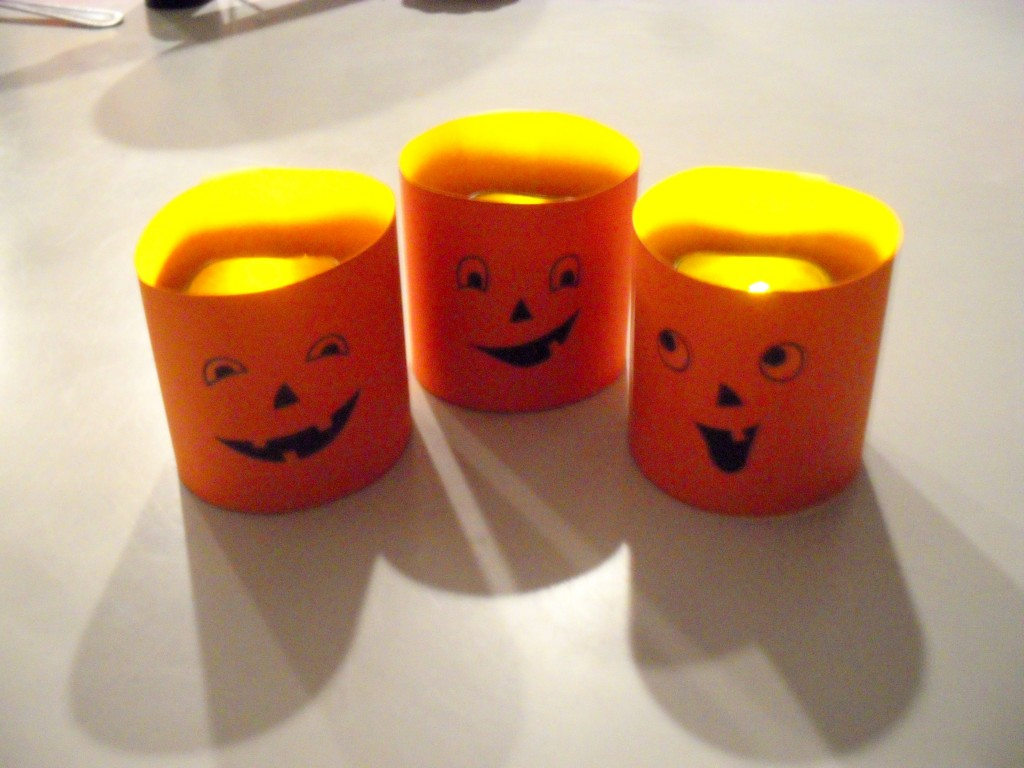 *Lite Up Jack O' Lanterns*