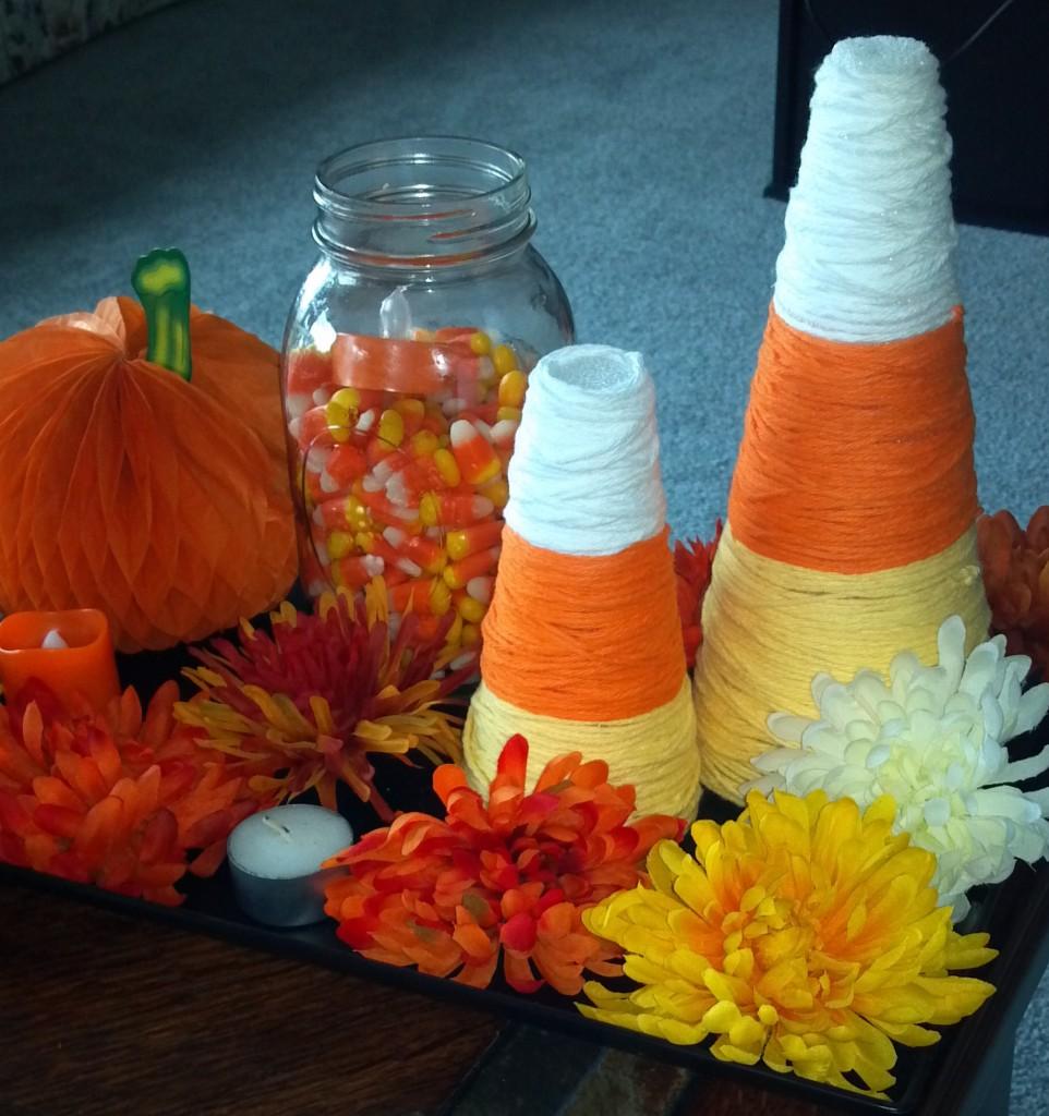 *Candy Corn Cones*