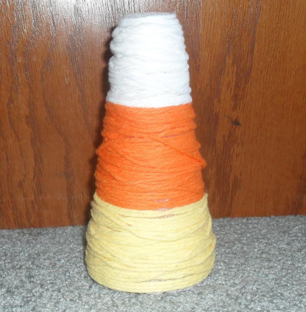 yarn halloween project