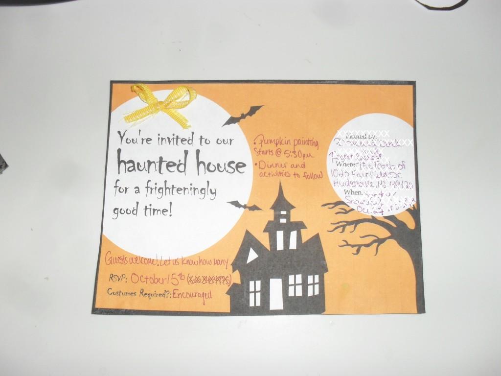 *Halloween Party Invites*