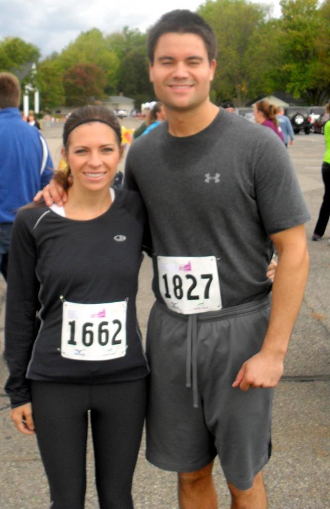 winning a 5k race