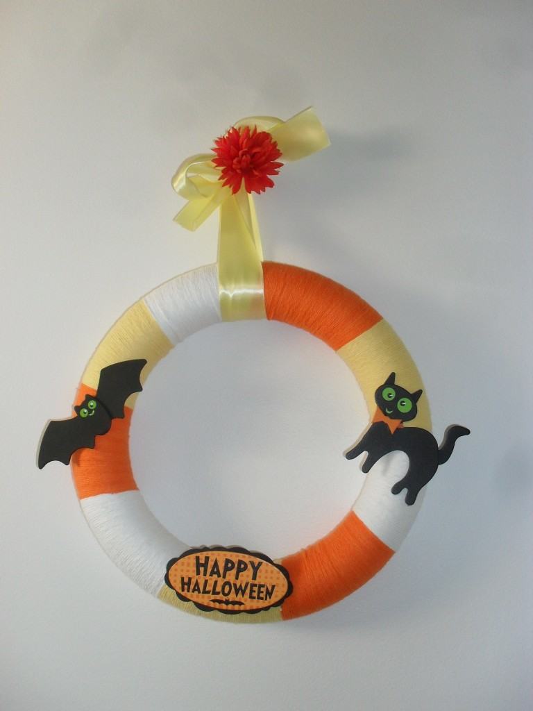 *Candy Corn Wreath*
