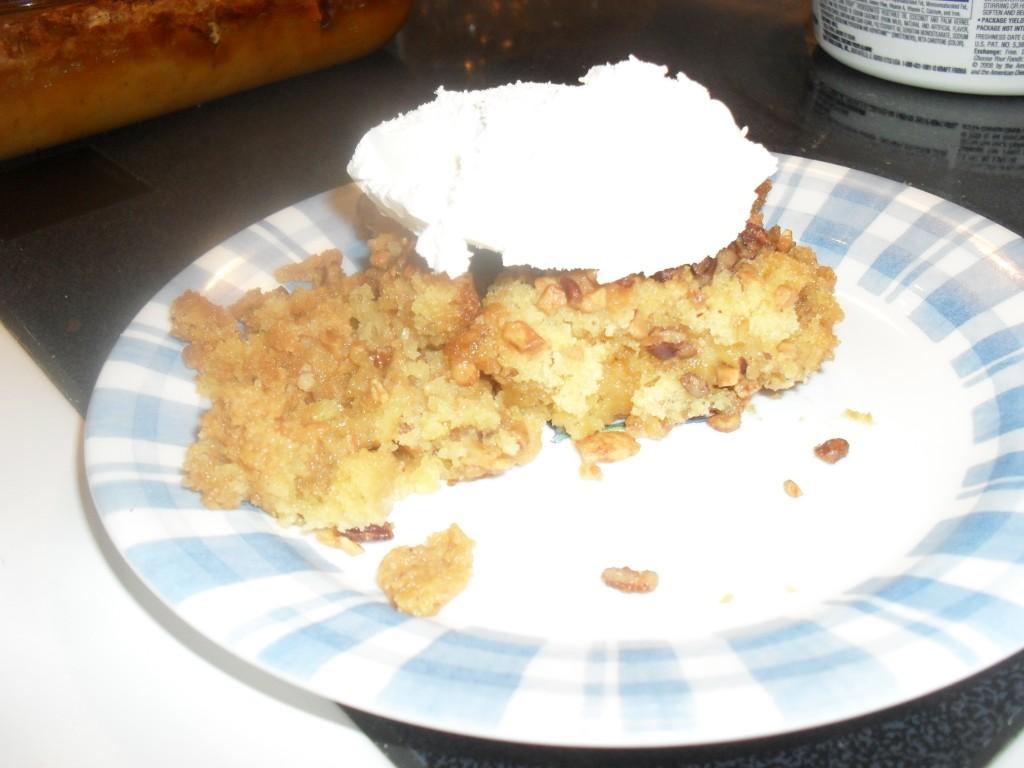 whipped pumpkin dessert