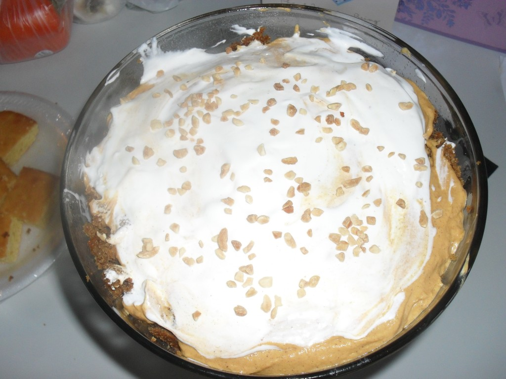 pumpkin truffle cake