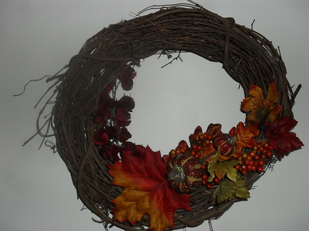 do it yourself fall wreath