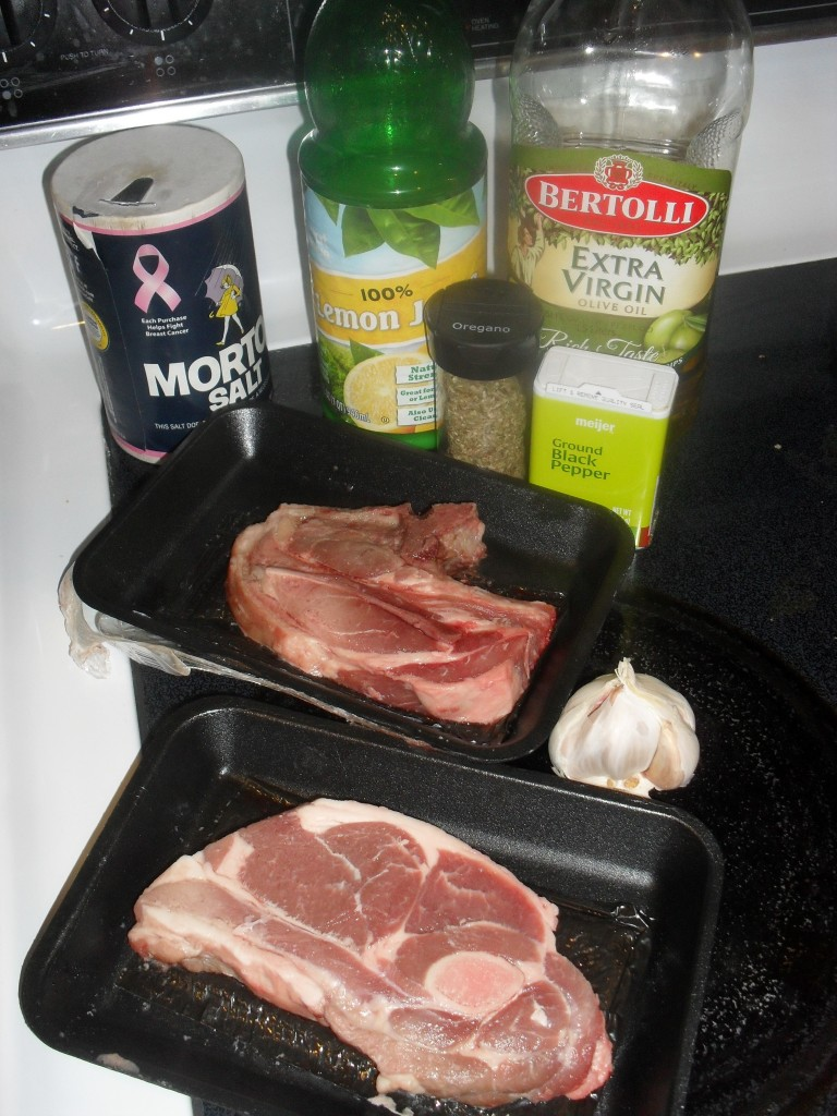marinate lamb chops