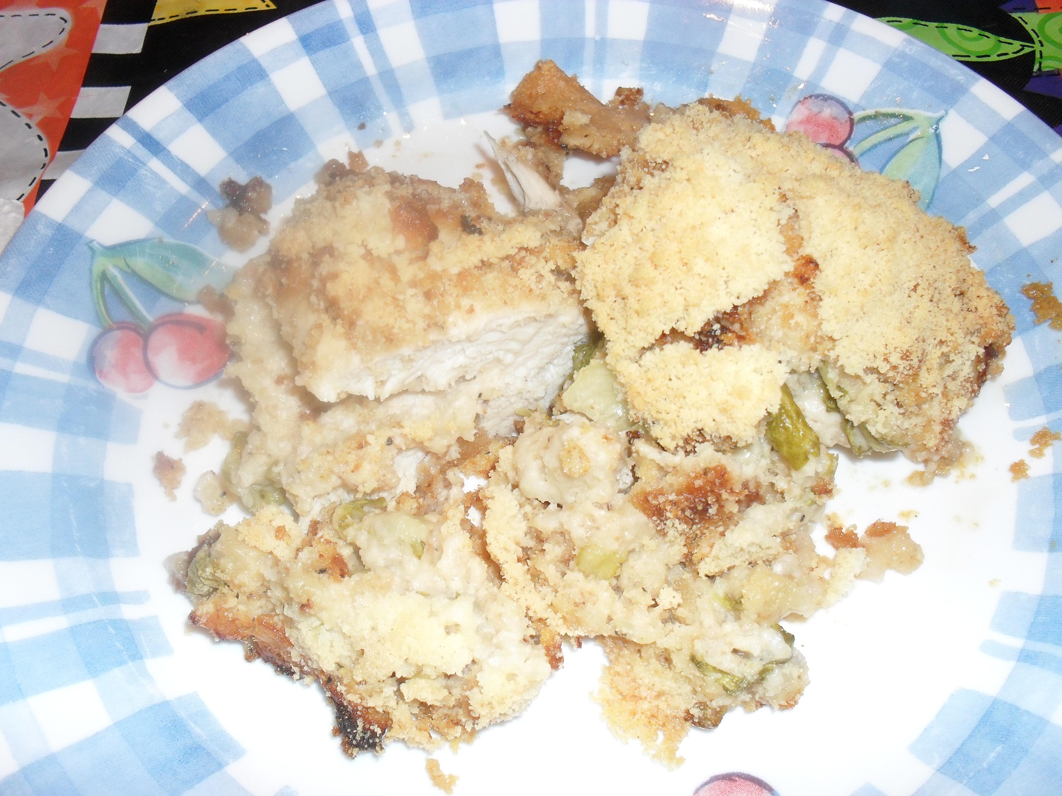 crouton chicken caesar