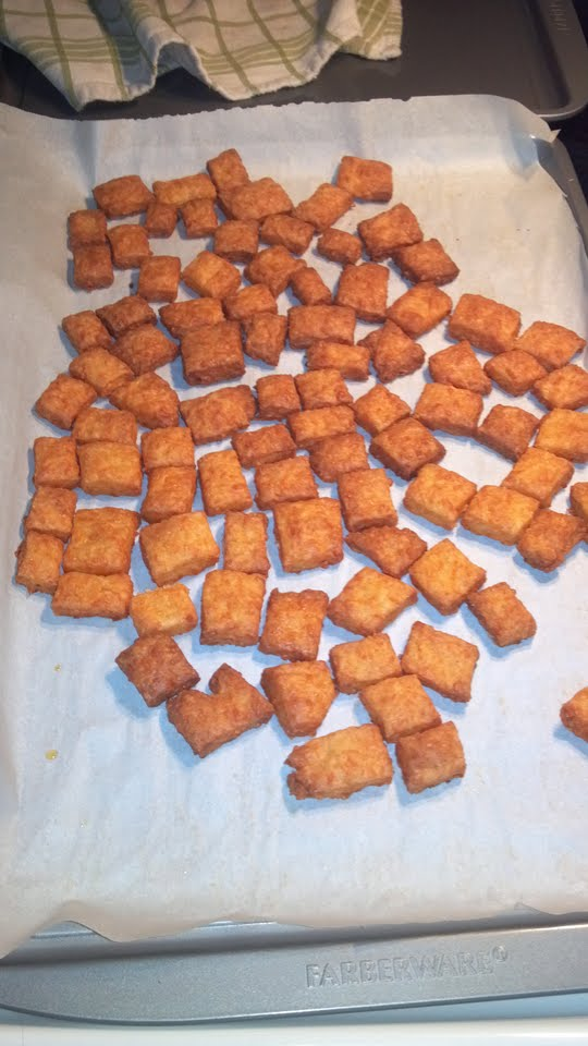 baked cheezits
