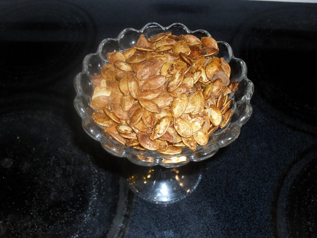 *Baked Pumpkin Seeds*