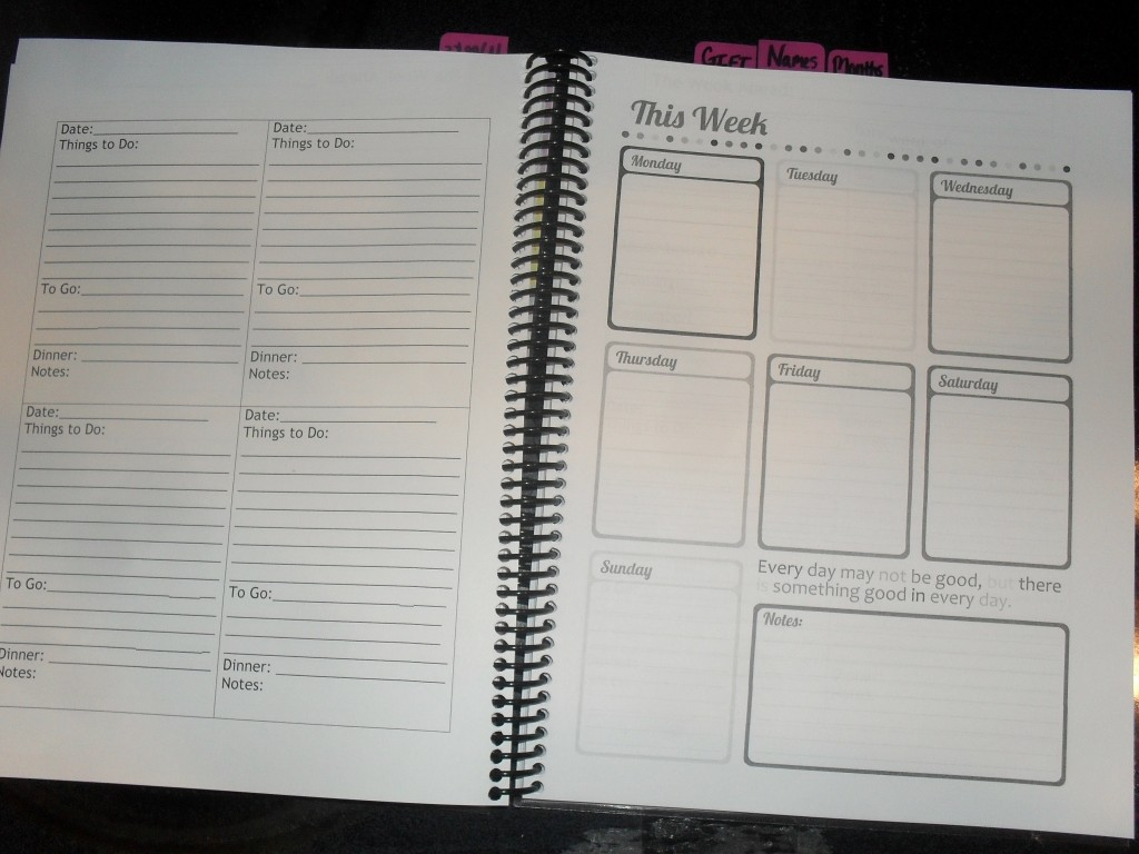 graphic regarding Diy Planner Pages titled Do-it-yourself 2013 Planner* - Stylish Room
