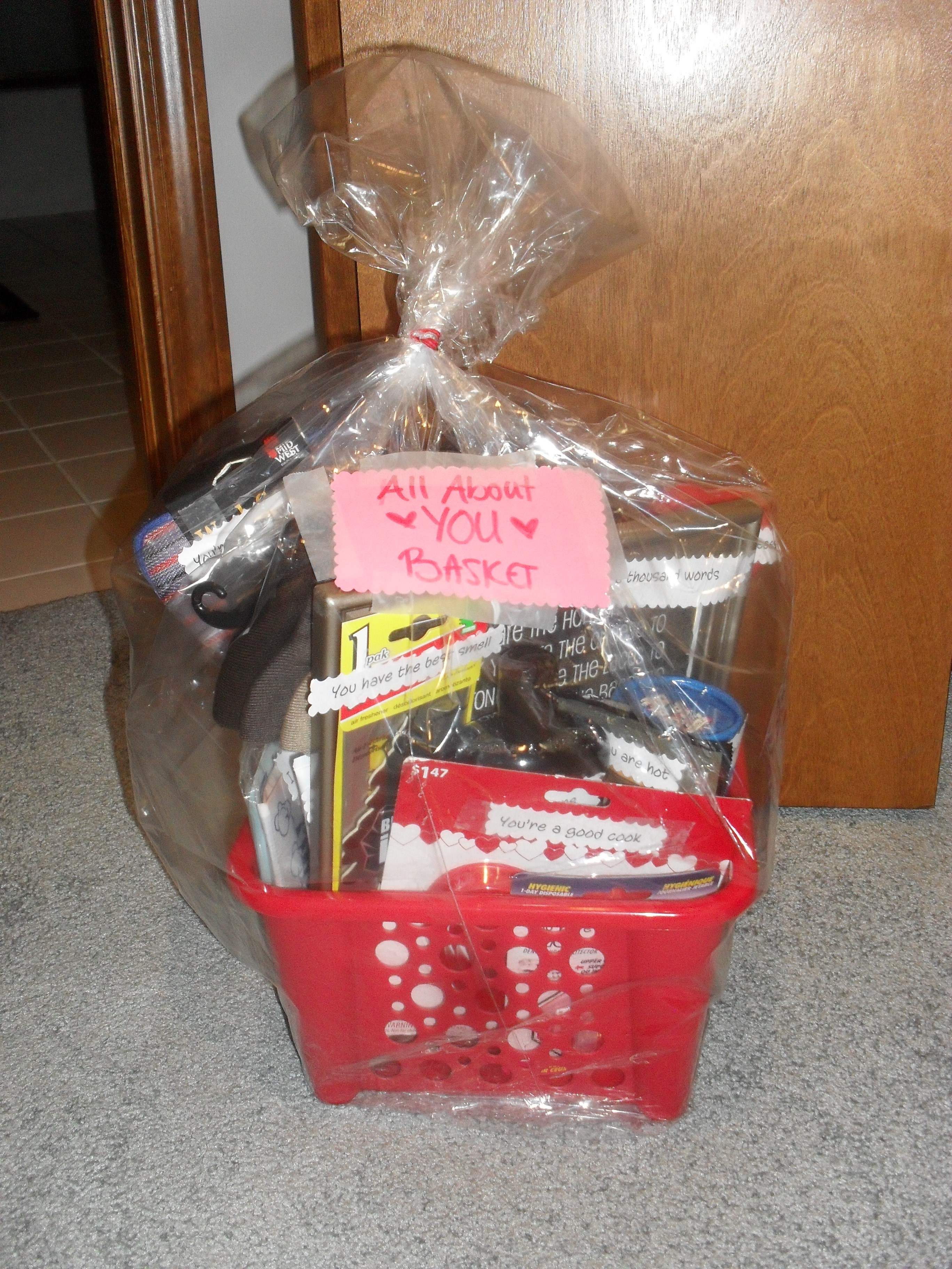 *All About You Basket*