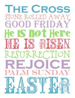 *Palm Sunday Cross*