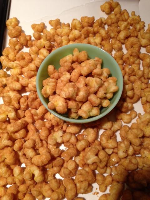 *Caramel Corn Puffs*