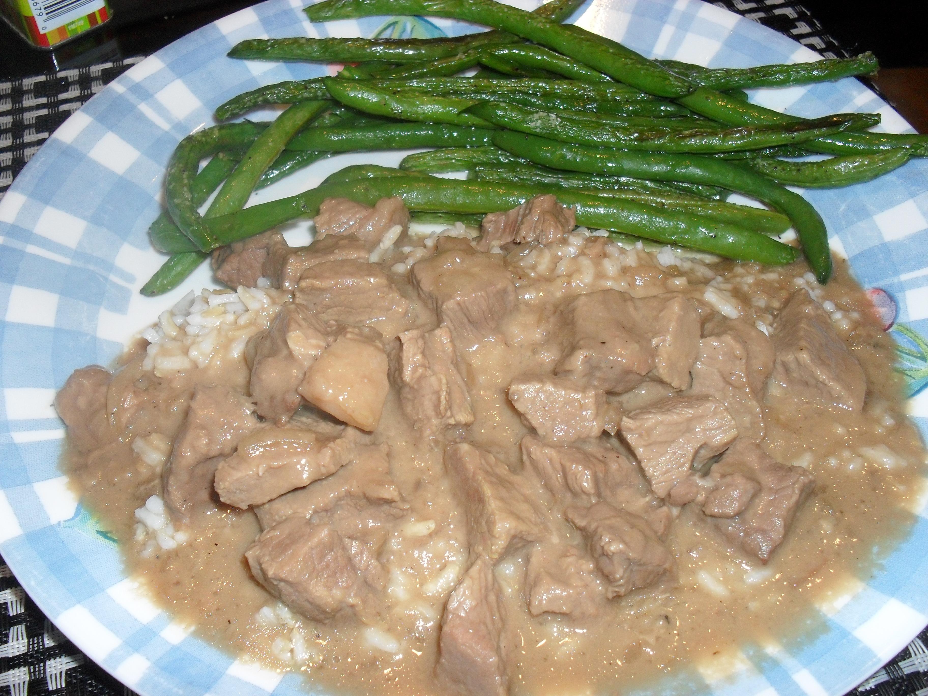Beef In Mushroom Sauce Crock Pot Recipe