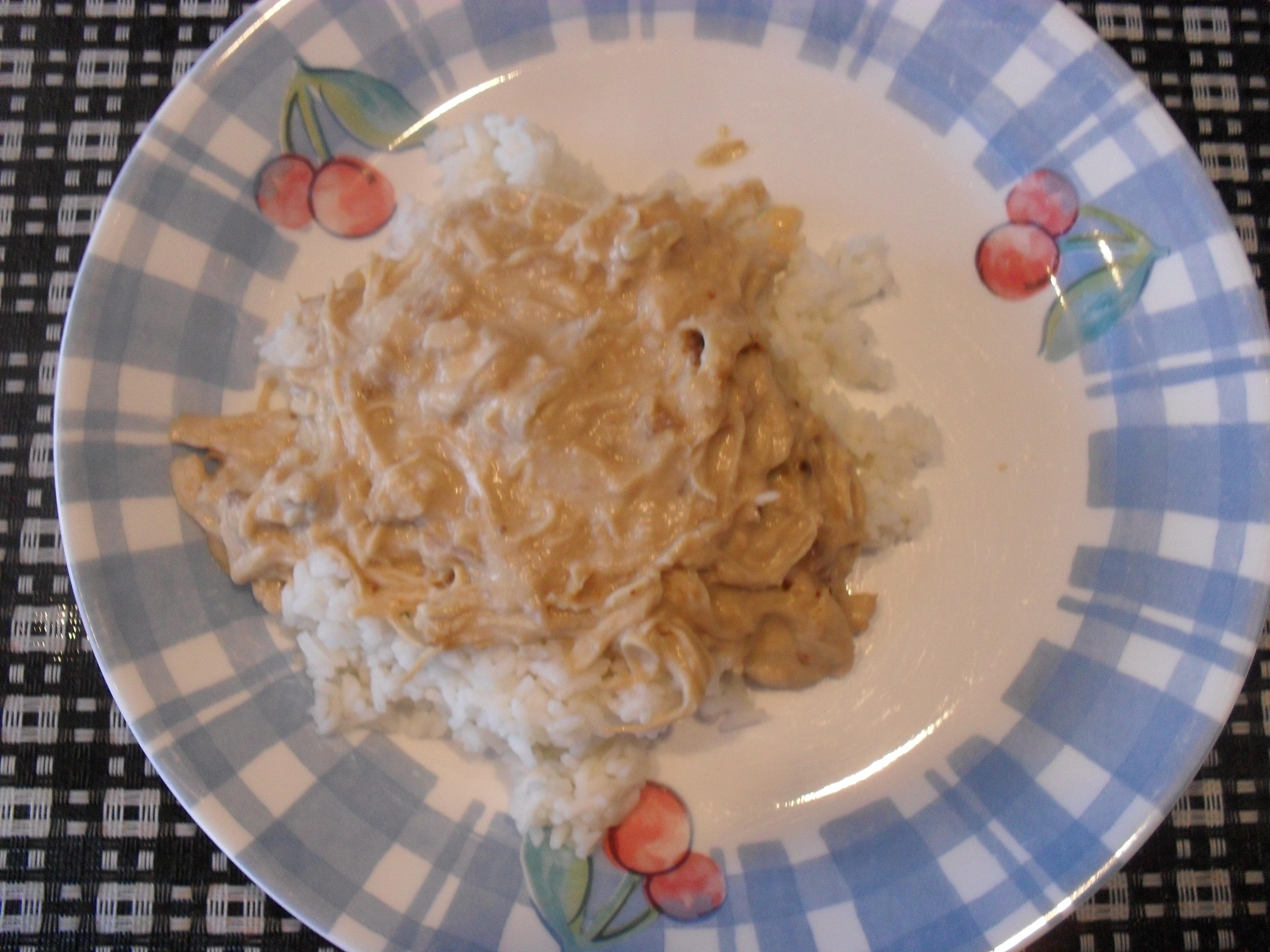 Crock-Pot Chicken Stroganoff
