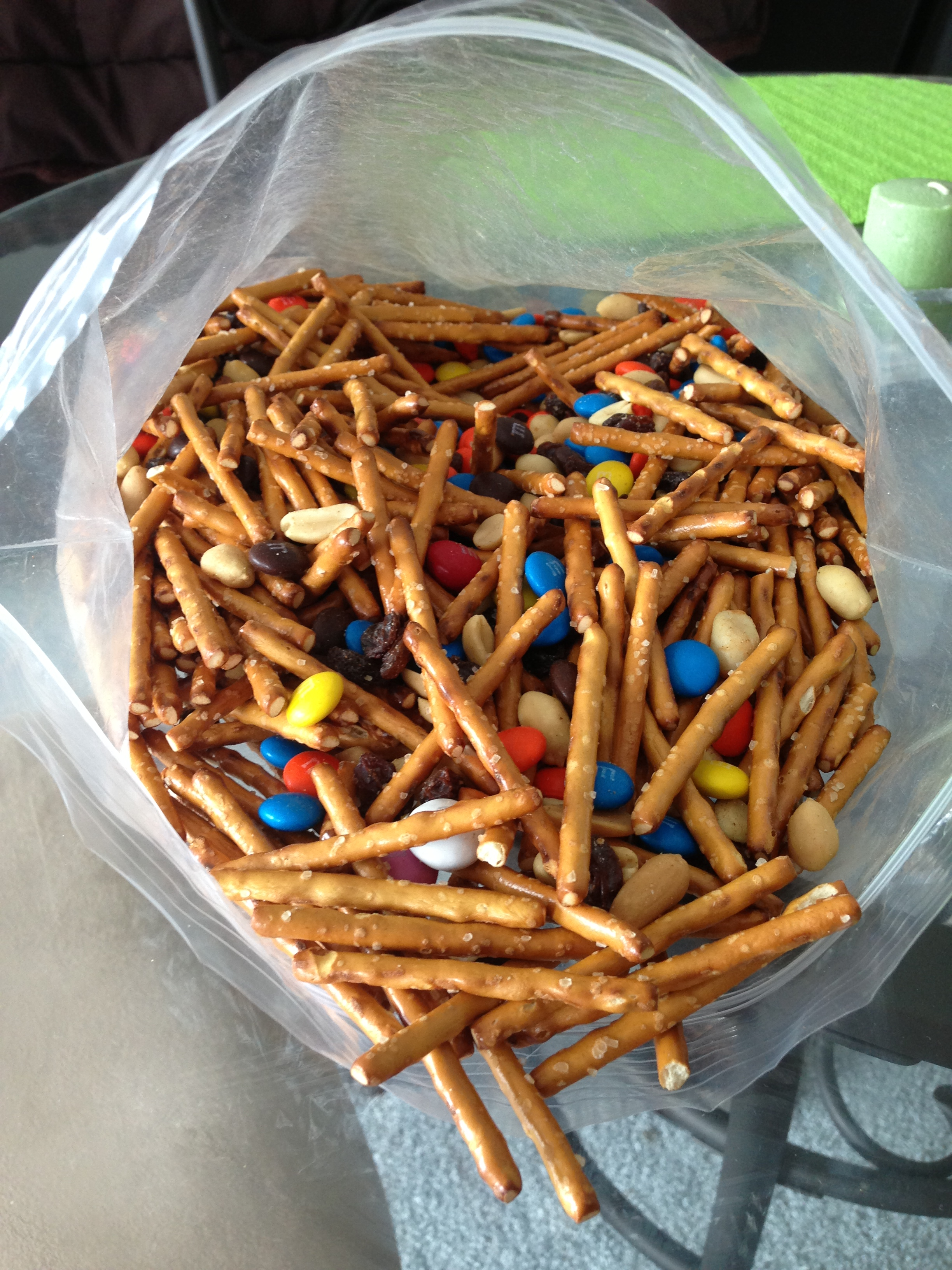 Pretzel Party Mix