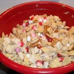 Valentine's Peanut Butter Chex Mix