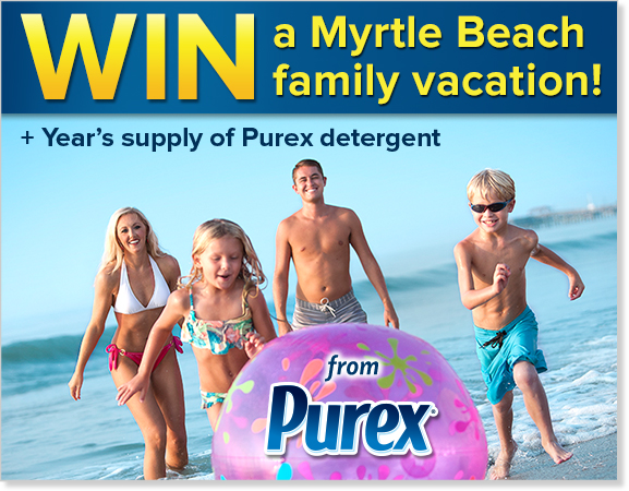 WIN a Family Vacation from Purex!