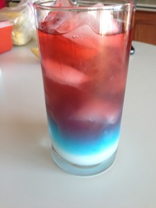 Patriotic Non-Alcoholic Drink