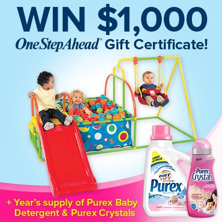 WIN $1,000 OneStepAhead Gift Certificate!