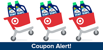 Purex #Cartwheel #Coupon at Target!