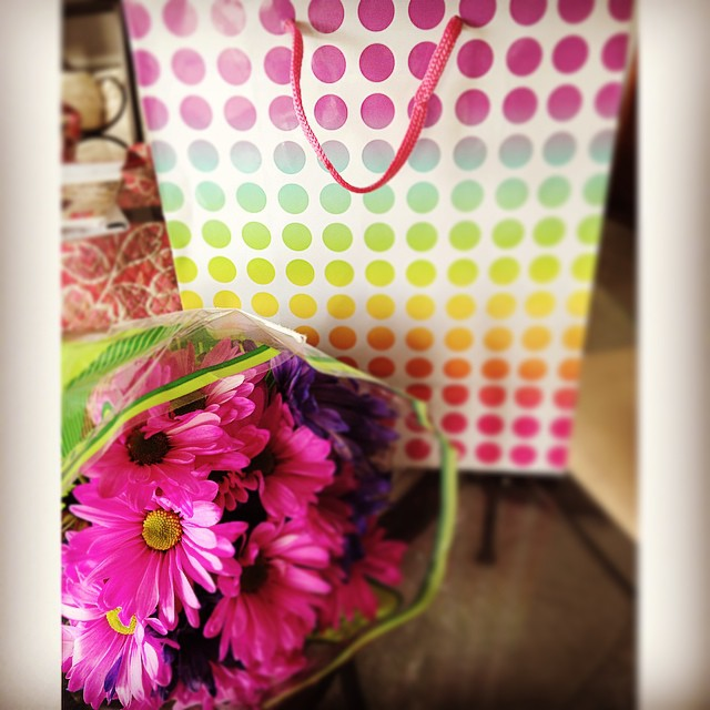 What is your favorite surprise to get? I love receiving flowers!