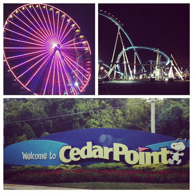 Had so much fun at #cedarpoint for #bloggycon14