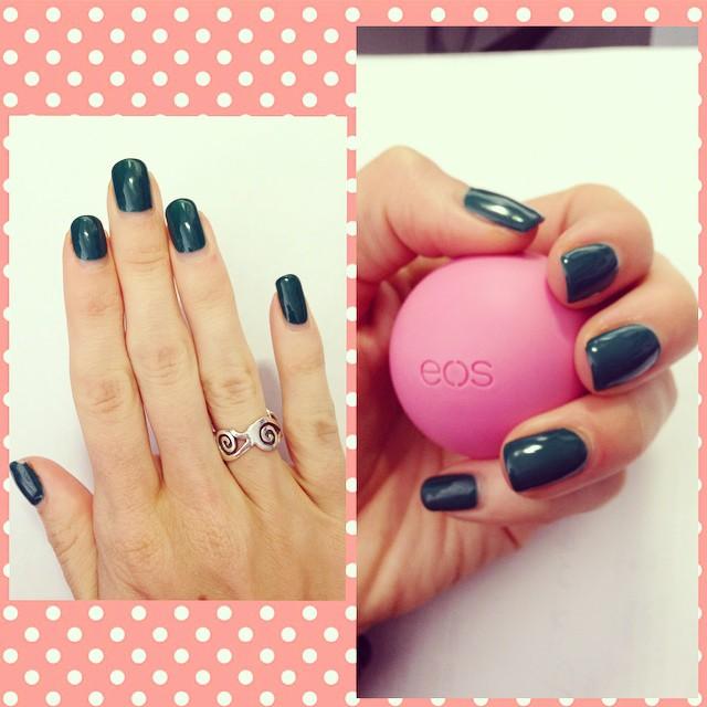 chapstick manicure