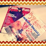 My favorite fall magazines have arrived! What are your favorite ones?