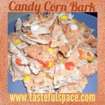 Time for Halloween treats! Candy Corn Bark is the perfect no-bake snack to make!