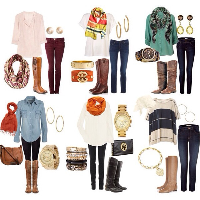 Wardrobe Wednesday shows the many ways to pair riding boots this fall! What style would you wear?!